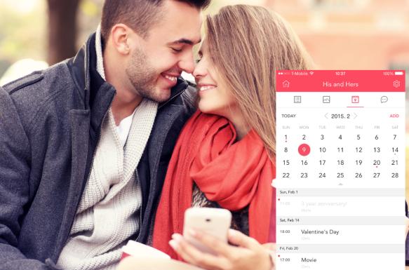 Calendar for a couple