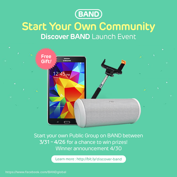 Discover BAND Banner