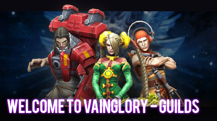 Find the base for your VainGlory guild
