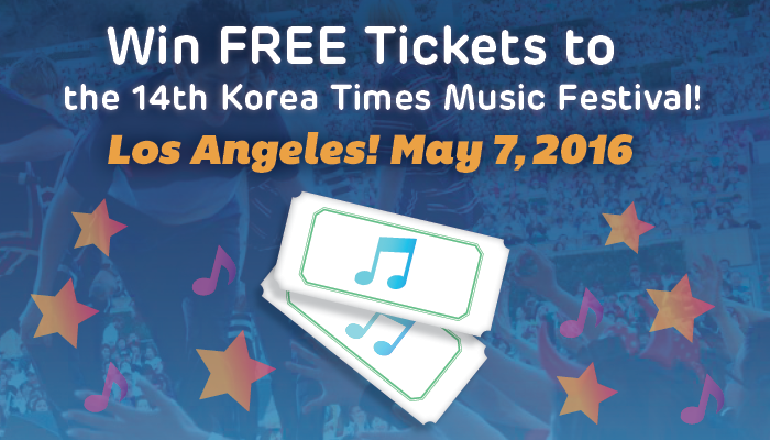 [Kpop Band Event] Win FREE Tickets to the Korea Times Music Festival in LA!