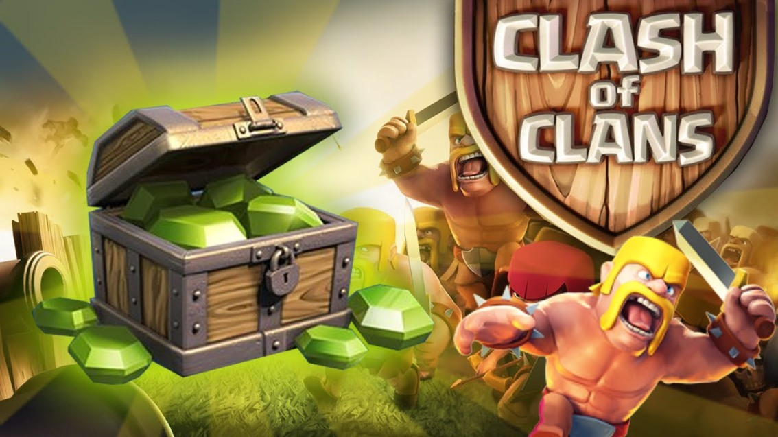 Clash of Clans 70,000 Gem Giveaway!