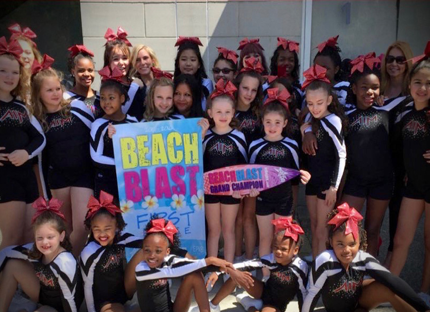 Our Cheer Team UsesBAND!