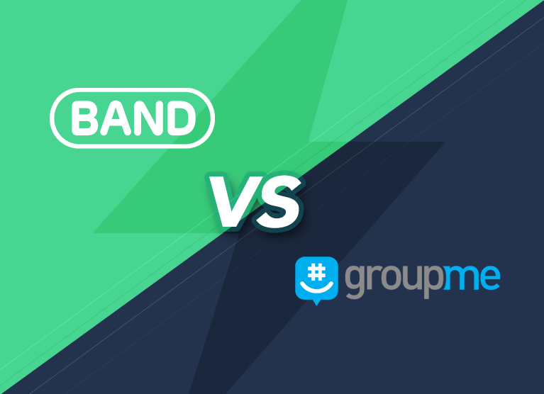 BAND vs  GroupMe   - Where Leaders Communicate Better