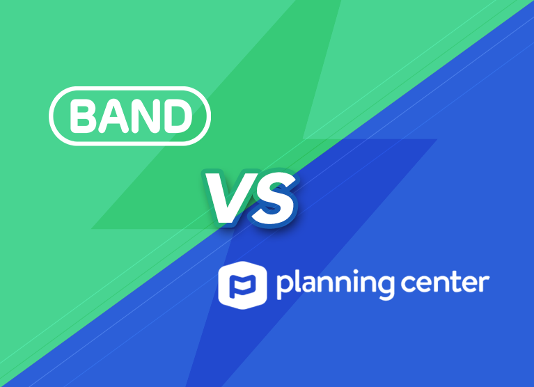 BAND vs. Planning Center Groups