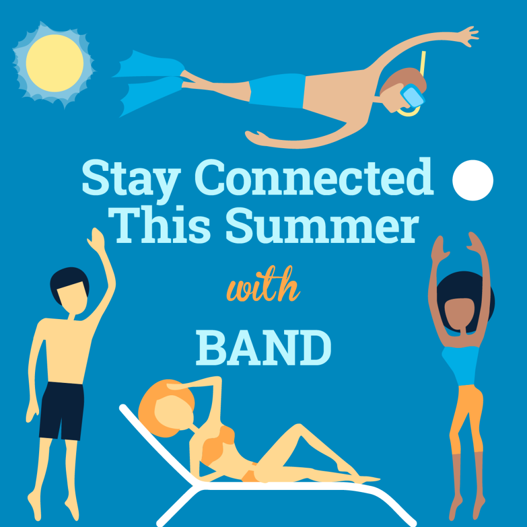 Stay connected with friends this summer.