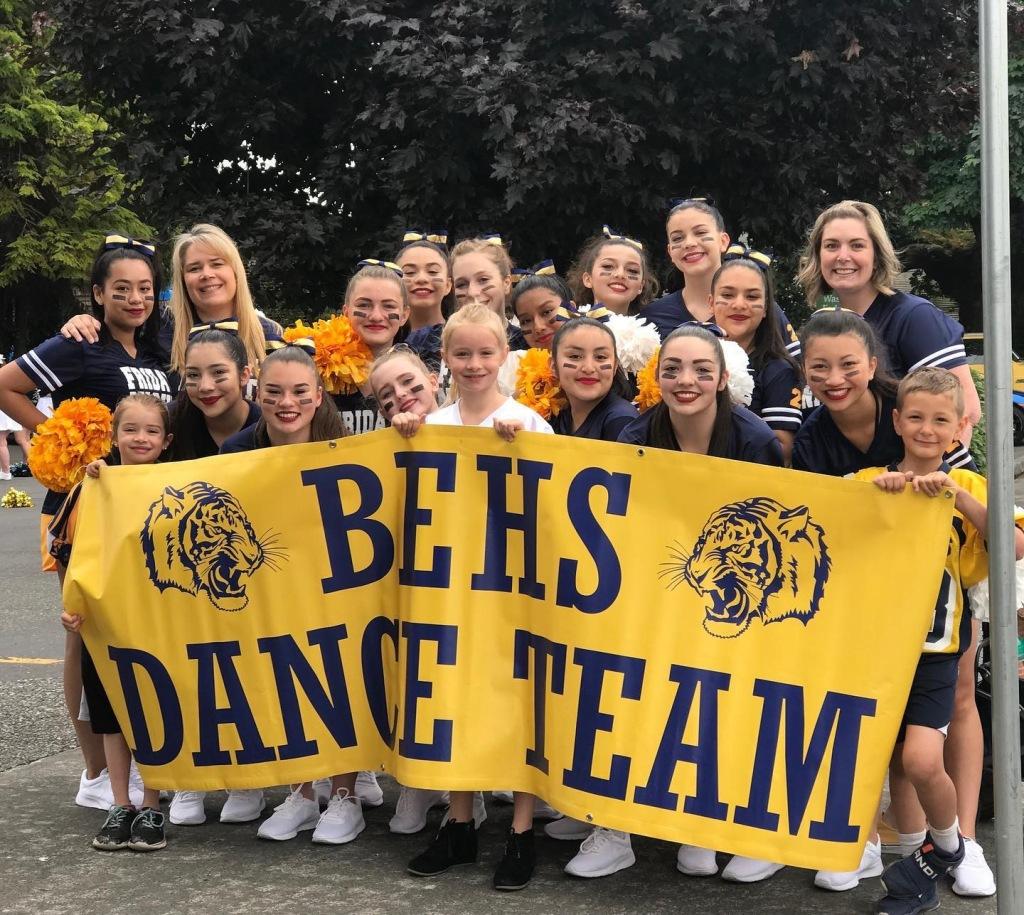 dance team pep rally