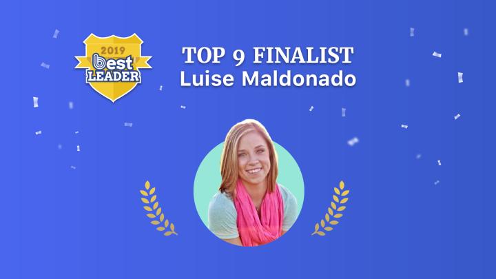 2019 Best Leader Finalist: LuiseMaldonado
