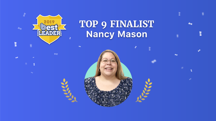 2019 Best Leader Finalist: Nancy Mason