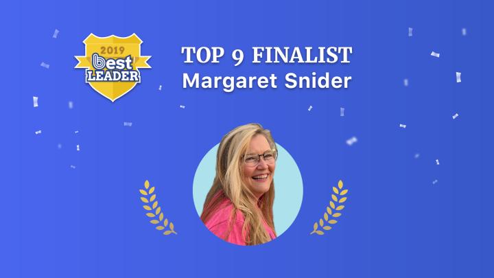 2019 Best Leader Finalist: MargaretSnider