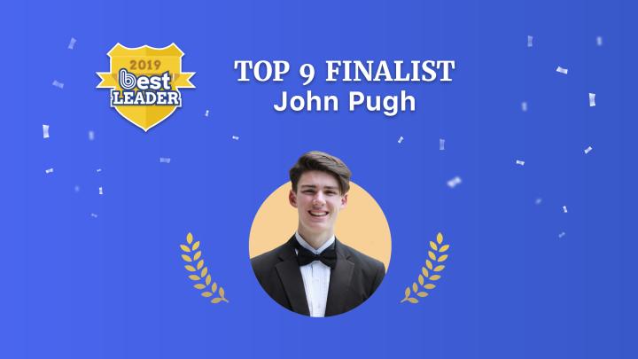 2019 Best Leader Finalist: JohnPugh